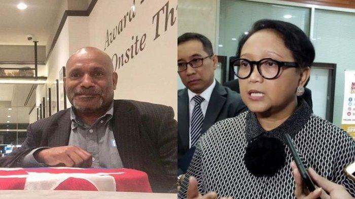Benny Wenda dan Menlu Retno Marsudi