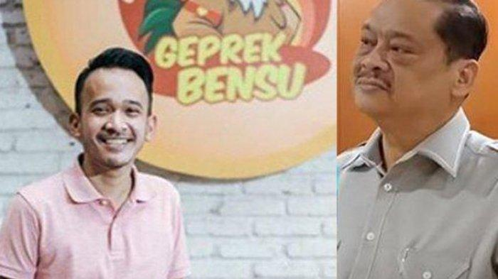 Ruben Onsu dan Eddie Kusuma, Kuasa Hukum dari PT I Am Geprek Bensu (kolase/istimewa)