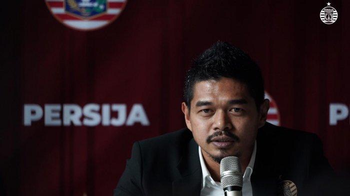 Manajer baru Persija Jakarta, Bambang Pamungkas.