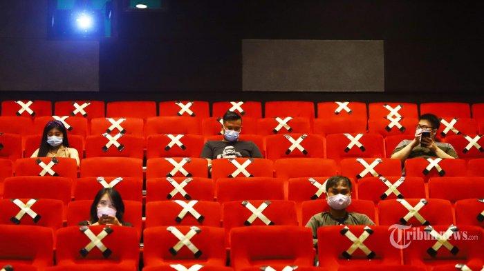 Bioskop di Bekasi Mulai Buka, Menparekraf Imbau Jalankan Protokol Kesehatan dengan Baik