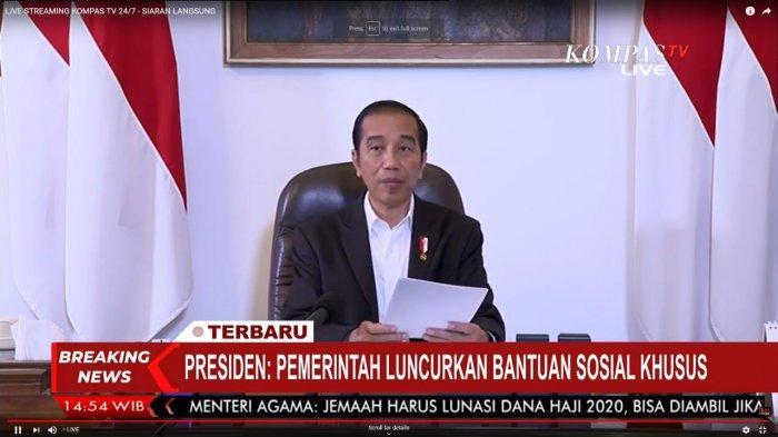 BERAKING NEWS Presiden Jokowi Luncurkan Bansos Khusus untuk Supir 600 Ribu selama 3 Bulan