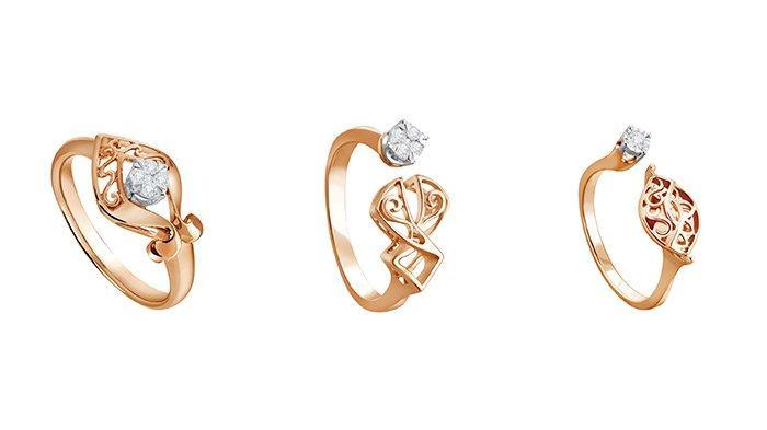 Berbagai koleksi cincin berlian dari The Palace.
