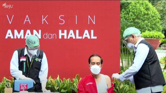 Jokowi Sebut Vaksinasi Covid-19 Warga Bisa Dimulai Pertengahan Februari 2021, Ini Kata Pimpinan DPR