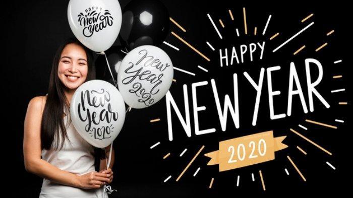 Berikut ini kumpulan ucapan Selamat Tahun Baru 2020 yang cocok dikirim ke teman via WhatsApp, Facebook, Instagram.