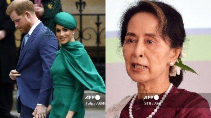 POPULER INTERNASIONAL Ketakutan Pangeran Harry Tinggal di Inggris | Aung San Suu Kyi Akhirnya Muncul