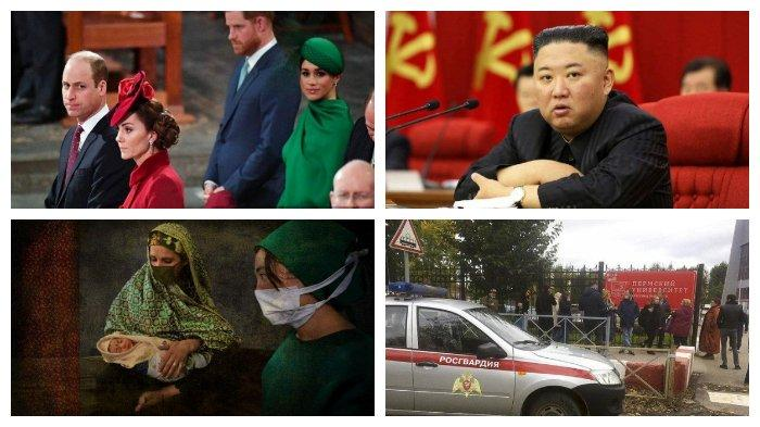 POPULER Internasional: Kegelisahan Pangeran William-Kate Middleton | Penembakan di Kampus Rusia