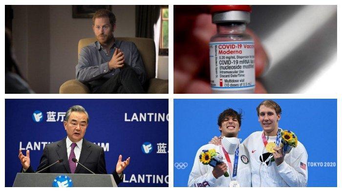 POPULER Internasional: Polemik Buku Pangeran Harry | Aturan Lepas Masker Peraih Medali Olimpiade
