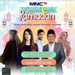 Poster program 'Berkah Cinta Ramadan' yang akan tayang di MNCTV.