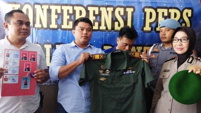 Bermodal Seragam TNI dan Kartu Identitas Palsu, Kapten Gadungan Berhasil Menipu Empat Janda