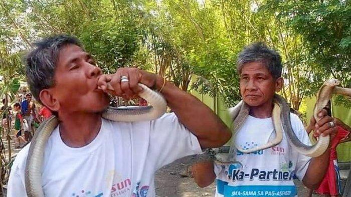 Pawang Ular di Filipina Tewas Digigit Kobra, Sempat Mengaku Kebal Bisa