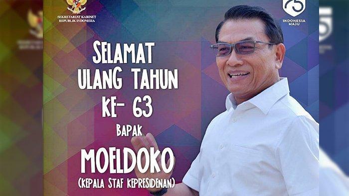 Ulang Tahun ke-63, Ini Profil Singkat Moeldoko: Kepala Staf Kepresidenan yang Suka Lagu Sendu