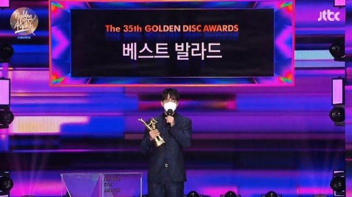 Daftar Pemenang 35th Golden Disc Awards, Lee Seung Gi Raih Best Ballad Award