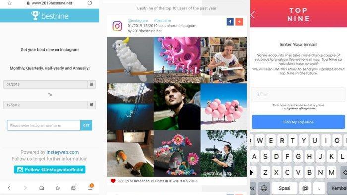 LINK Membuat Best Nine 2020 di Instagram, Berikut Langkah-langkah Mudahnya