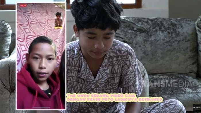 Video Call Adik yang Ulang Tahun, Reaksi Betrand Peto saat Tahu Ibu Kandungnya Sakit Jadi Sorotan