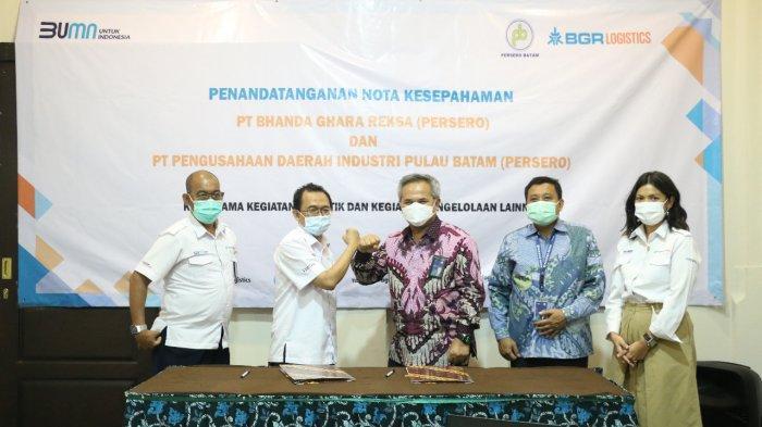BGR Logistic Garap Bisnis di Industri Pulau Batam