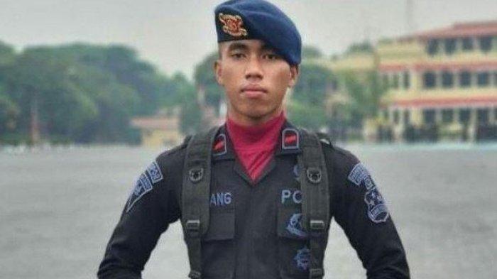 Anggota Brimob Bharada I Komang gugur ditembak KKB di Papua, Selasa (27/4/2021).