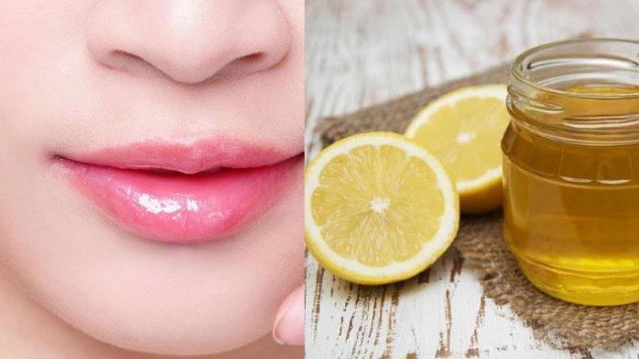 5 Cara Memerahkan Bibir Secara Alami Olesan Lemon Dan Madu Hingga Buah Stroberi Tribunnews Com Mobile