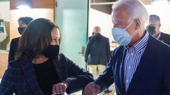 Foto Presiden terpilih AS Joe Biden dan Wakil Presiden terpilih AS Kamala Harris. Washington hingga Semua Negara Bagian AS Tingkatkan Pengamanan Jelang Pelantikan Joe Biden