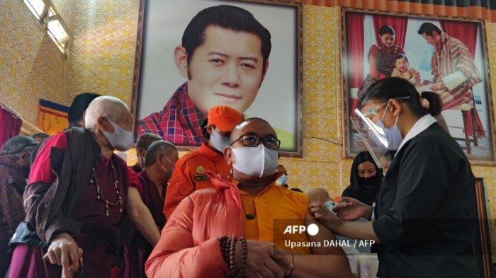 Bhutan Telah Vaksinasi 93% Populasi Orang Dewasa Hanya dalam Waktu 16 Hari