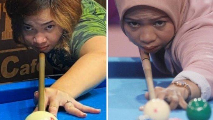 Turnamen Biliar Hot Nine POBSI Pertemukan Dua Atlet Putri Sarat Prestasi: Naya Vs Dini