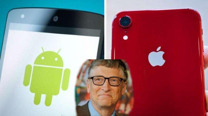 Bill Gates Lebih Memilih Android daripada iPhone, Ini Alasannya