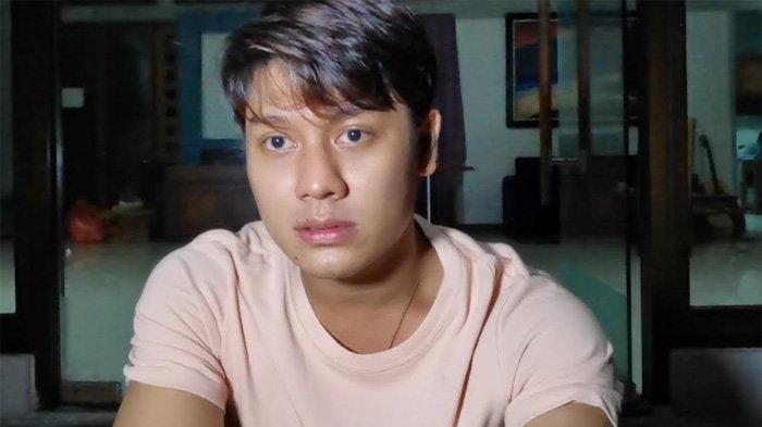 Rizky Billar ketika ditemui di kawasan Ciganjur, Jakarta Selatan, Jumat (11/6/2021) dini hari.