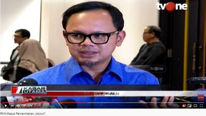 Ketua DPP PAN Bima Arya Sugiarto mengatakan Zulkifli Hasan tak keberatan untuk bergabung ke pemerintahan Jokowi periode kedua ini.