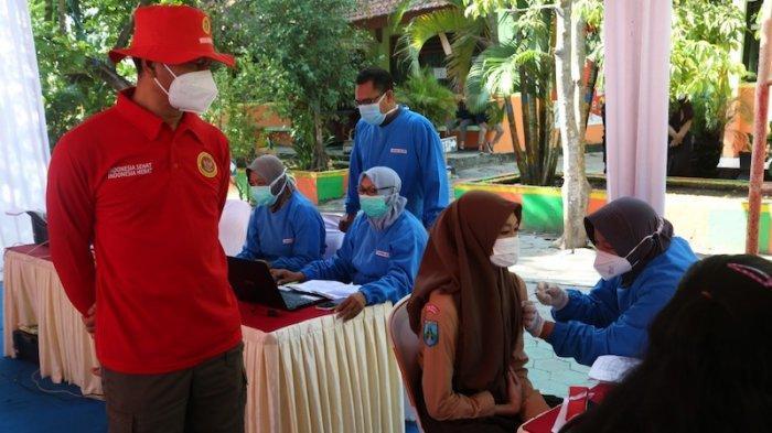 BIN Jatim Gelar Vaksinasi Tahap Dua Untuk Pelajar dan Warga di Madiun