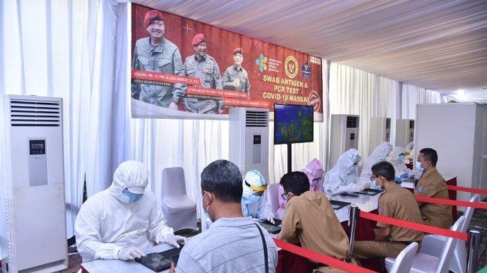 Tingkatkan Tracing Covid-19, BIN Gelar Test Usap Massal di Tangerang Selatan