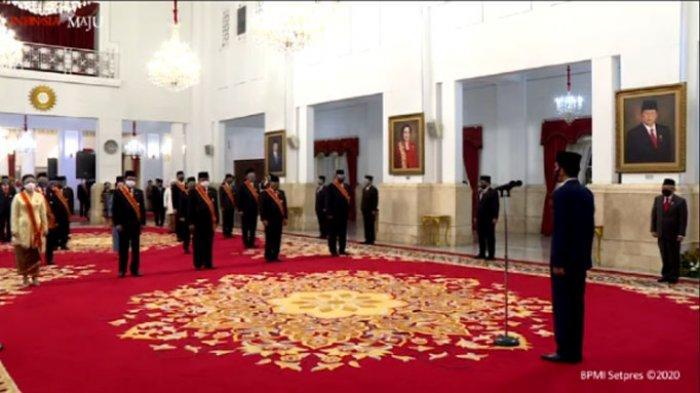 Dari Luhut hingga Susi Pudjiasturi Terima Bintang dan Jasa dari Jokowi, Gatot Nurmantyo Tidak Hadir