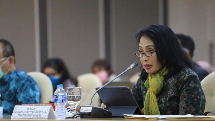 Menteri PPPA Ajak Perempuan dan Anak Tekan Penyebaran Covid-19 di Keluarga