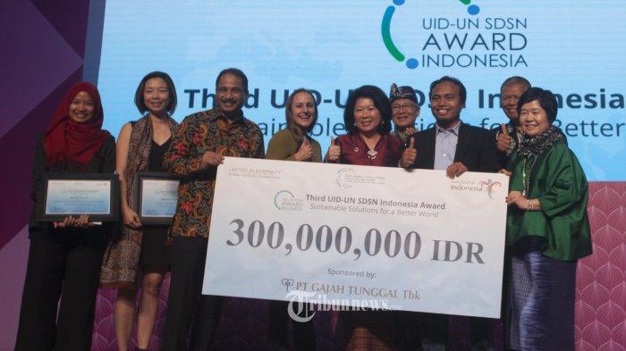 Bintang Sejahtera Menerima Penghargaan UID-UNSDSN Award 2017