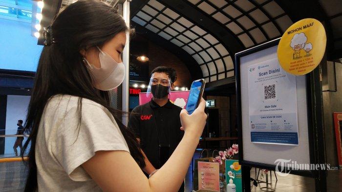 Cara Scan QR Code saat Masuk Mal dan Bioskop di Aplikasi Peduli Lindungi