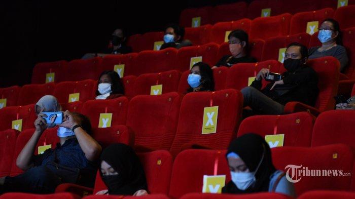 Bioskop Diizinkan Buka di Wilayah PPKM Level 2 dan 3, Ini Ketentuan dan Daftar Wilayahnya