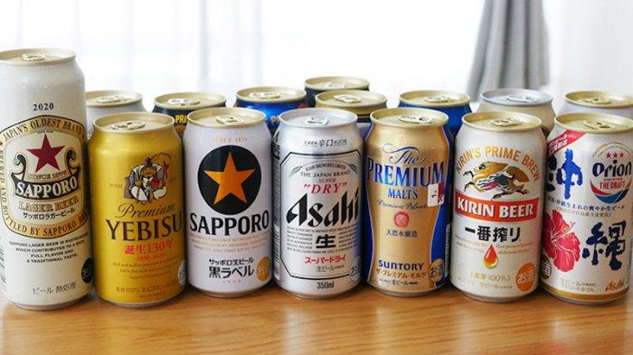 Penjualan Minuman Bir Jepang Turun Antara 2-11% Untuk Paruh Pertama Tahun 2021