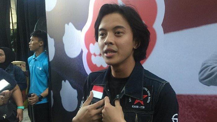 Bisma Karisma di di Press Screening Film 'Koboy Kampus' di Kuningan, Jakarta Selatan, Kamis (18/7/2019).