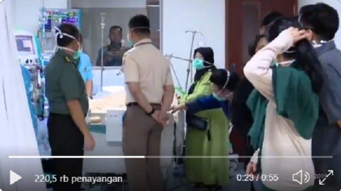 BJ Habibie dalam perawatan di RSPAD Gatot Subroto