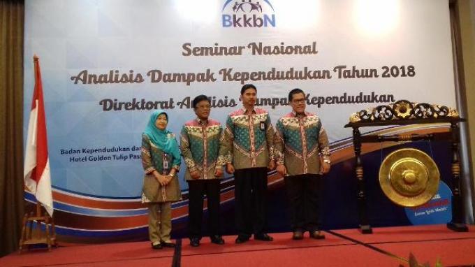 BKKBN Berharap Seminar Nasional Analisis Dampak Kependudukan Hasilkan Rumusan Kebijakan Positif