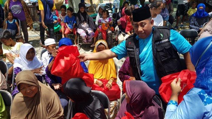 BKPRMI Salurkan Bantuan untuk Anak Yatim Piatu dan Lansian Korban Bencana Sulteng
