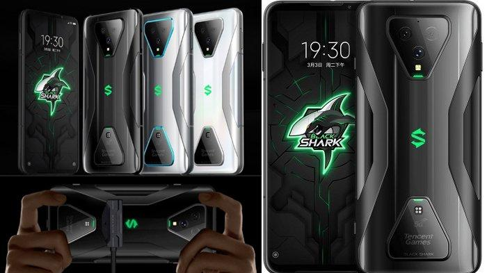 Black Shark 3 and 3 Per Release, the Following prices and full specifications mobile phone Gaming, Xiaomi Terbaru