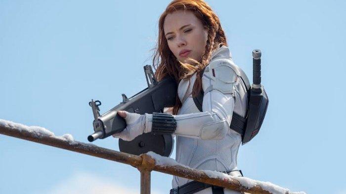 Adegan dalam Film Black Widow.