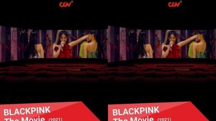 BLACKPINK The Movie dalam format ScreenX.
