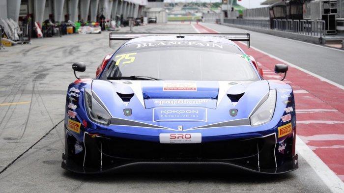 Jelang Blancpain GT World Challenge Asia 2019, Rio dan David Hari Ini Ngetes Mobil di Sirkuit Sepang