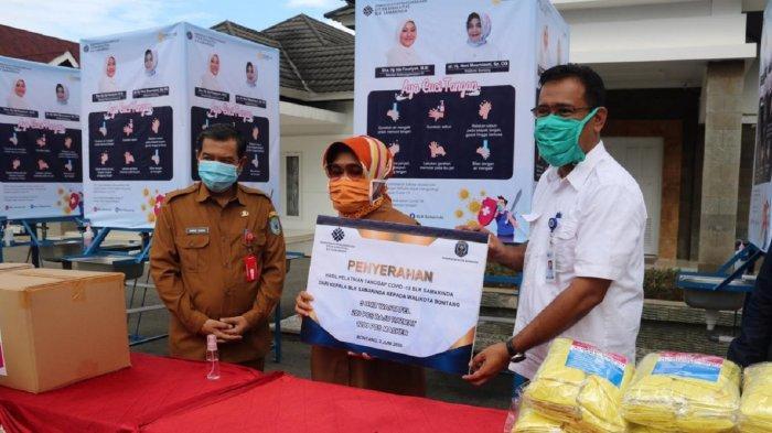 BLK Samarinda Sumbang APD Bagi Tenaga Medis di Bontang