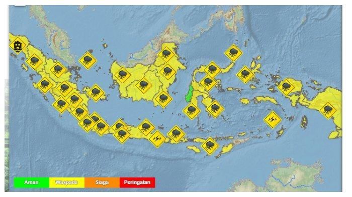 Prakiraan Cuaca 33 Kota Besar di Indonesia Besok, Minggu 22 November 2020: Kendari Berawan