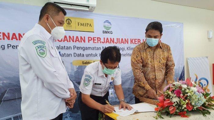 BMKG dan FMIPA UI Jalin Kerjasama Peningkatan Kapasitas Sumber Daya Manusia