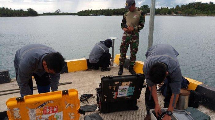 Untuk Antisipasi Tsunami Susulan, BMKG Pasang Water Level di Pulau Sebesi