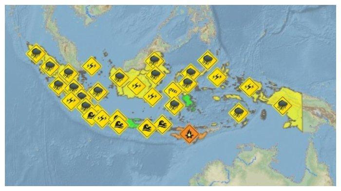 Info BMKG Jumat 10 Juli, Wilayah Lombok dan Sekitarnya: Kota Mataram Cerah Berawan Sepanjang Hari