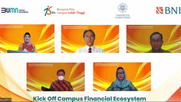 Kick Off Campus Financial Ecosystem BNI di UGM