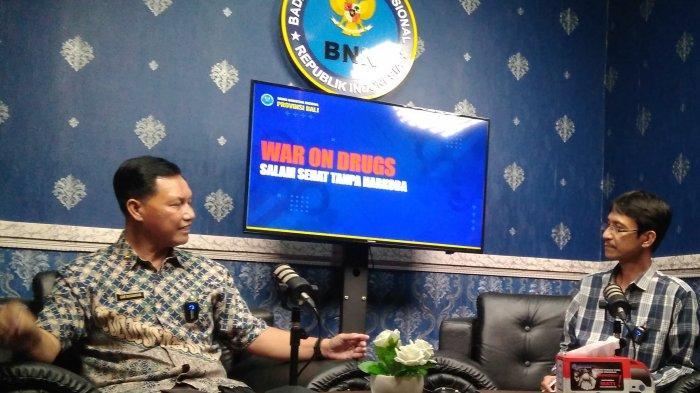 Kepala BNN Bali, Pada  Masa Pandemi Kasus Narkoba Malah Marak (1)